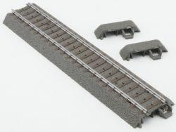 Märklin 24172 1x C-Gleis Gerade 2x Endstück 24001 Gleisbösch