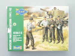 Revell 02615 Deutsche Panzerbesatzung 1941/42 teilgebaut OVP