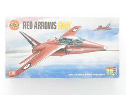 Airfix 01036 Red Arrows Hawker Siddeley GNAT RAF Kunstflug OVP