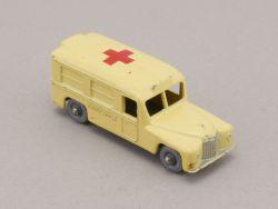 Matchbox 14 B regular wheels Daimler Ambulance rare Gray PW