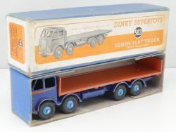 Dinky Toys 503 Foden Flat Truck Tailboard rare original box OVP