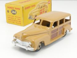 Dinky Toys 344 Plymouth Estate Car ex 27f N-MIB rare box! OVP