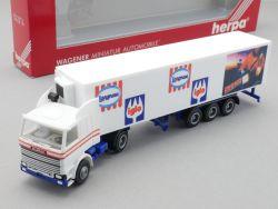 Herpa 843014 Scania 142M Sattelzug Iglo Langnese Nogger NEU OVP
