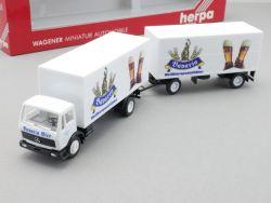 Herpa 806056 MB Getränke Köfferhängerzug Bier Eder Bavaria OVP