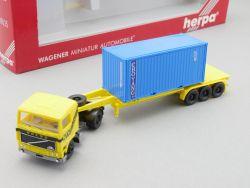 Herpa 839035 Volvo  F12 Container Sattelzug NTK Choyang NEU OVP
