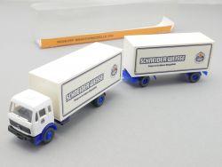 Roskopf 618 MB Schneider Weisse Hängerzug Bier HZ 1:87 NEU! OVP