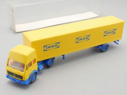 Wiking 25544 MB Sattelzug Einachs-Kofferauflieger IKEA NEU OVP