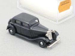 Brekina 1730 Wanderer W22 Taxi Limousine Schwarz 1:87 NEU OVP