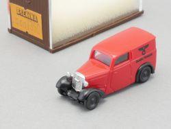 Brekina 1350 DKW F7 Deutsche Reichspost Modellauto 1:87 lesen OVP