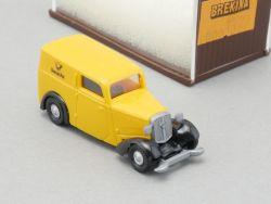 Brekina 1322 DKW F7 Deutsche Post Paketwagen Modellauto NEU OVP ST