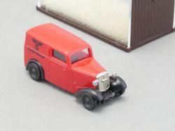 Brekina 1350 DKW F7 Deutsche Reichspost Modellauto 1:87 NEU OVP