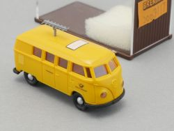 Brekina 3117 VW T1 Bus Dt.Bundespost Funkmessdienst NEU OVP SG