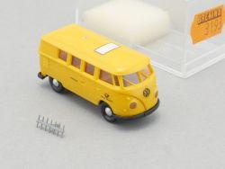 Brekina 3193 VW T1 Bus Deutsche Bundespost Funkmessdienst LESEN OVP