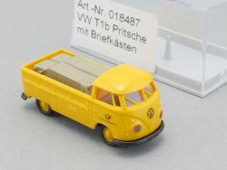 Brekina 018487 VW T1 b Pritsche mit Briefkästen DBP Post NEU OVP