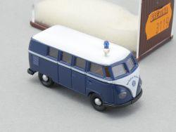Brekina 3119 VW T1 Bus Verkehrs Polizei Blaulicht 1:87 NEU! OVP