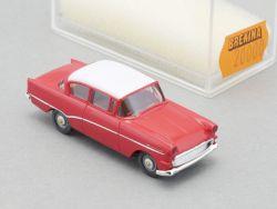 Brekina 20000 Opel Rekord P1 Limousine rot Modellauto 1:87 OVP