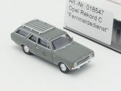 Brekina 018547 Opel Rekord C DBP Fernmeldedienst Post NEU OVP
