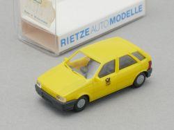 Rietze 30370 Fiat Tipo Post Paketauto Modell DBP 1:87 NEU OVP