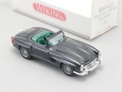 Wiking 8340420 Mercedes MB 300 SL Roadster W198 dunkelblau OVP