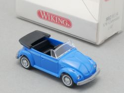 Wiking 8020114 Volkswagen VW Käfer Cabriolet 1:87 NEU! OVP