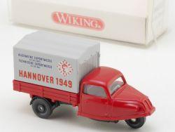 Wiking 8410221 Goli-Dreirad Exportmesse Hannover 1949 NEU! OVP
