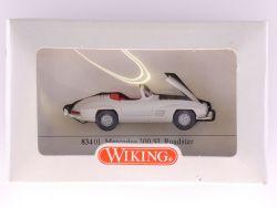 Wiking 83401 Mercedes MB 300 SL Roadster Modellauto NEU OVP