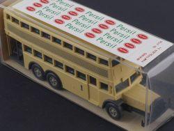 Wiking 3730 Berlin Doppeldecker-Bus D 38 Persil 1:87 NEU! OVP