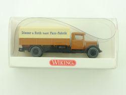 Wiking 8420324 MB L 2500 Diener Roth Fass Fabrik NEU OVP