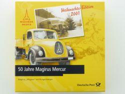 Brekina 50 Jahre Magirus Mercur 2001 Bundespost Briefmarken OVP