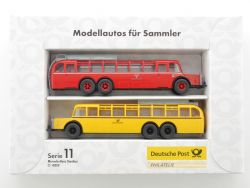 Brekina Serie 11 Bundespost Mercedes Postbus Omnibus O 10000 OVP