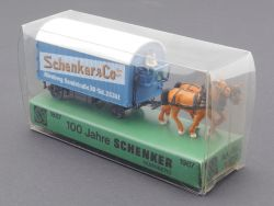 Rietze 60010 Pferdefuhrwerk 100 Jahre Schenker Co Nürnberg OVP