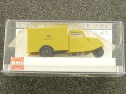 Busch 40636 Tempo Dreirad Post Honiggelb Modellauto 1:87  OVP