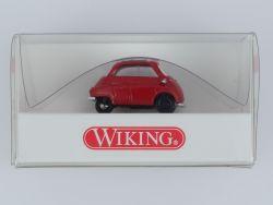 Wiking 8080222 BMW Isetta 3-Rad Modellauto rot 1:87 NEU! OVP