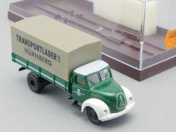 Brekina 4218 Magirus Transportlader AG Nürnberg Pritsche H0 OVP