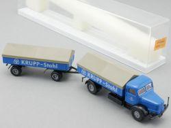 Brekina 7723 Krupp Tiger Hängerzug Krupp Stahl Essen 1:87 NEU! OVP
