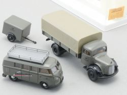 Brekina 9016 MB VW Bully T1 Bundespost Schnellbautrupp NEU! OVP