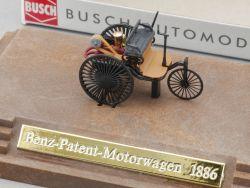 Busch MB Mercedes Benz Patent Motorwagen 1886 Briefmarke NEU! OVP