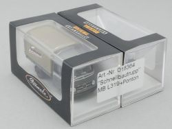 Brekina 018364 MB Mercedes L 319 Ponton Schnellbautrupp NEU! OVP
