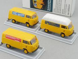 Brekina 018457 Volkswagen VW T2 Bus Postreklame DBP Post NEU! OVP