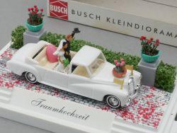 Busch 7646 Traumhochzeit Mercedes MB 300 Adenauer Landaulet  OVP