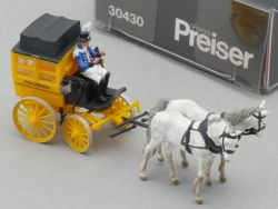 Preiser 30430 Königlich Bayerischer Postomnibus Postkutsche  OVP