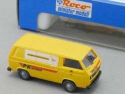 Roco 1554 VW Bus T2 Kleintransporter PK Postkurier Post OVP