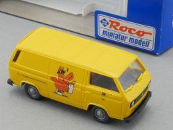 Roco 1437 VW Bus T2 Kastenwagen Dt.Bundespost Postleitzahlen OVP