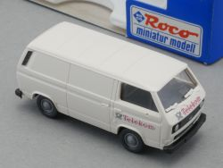 Roco 1433 VW Bus T2 Kastenwagen Post Telekom 1:87 NEU! OVP