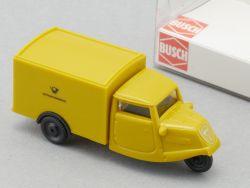 Busch 40636 Tempo Dreirad Dt.Bundespost DBP Modellauto 1:87  OVP ST