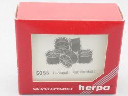 Herpa 5055 Ladegut Kabelpakte LKW 5 Stk Zubehör Modell NEU! OVP