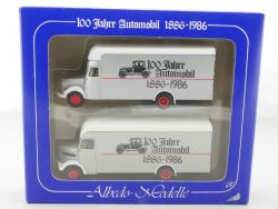 Albedo Set Mercedes MAN 100 Jahre Automobil 1886 bis 1986 NEU! OVP