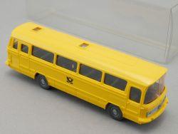 Wiking 710 MB O 302 Postbus mit Fahrer DBP Modellbahn Bau