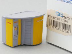 Rietze 70208 Packstation DHL Deutsche Post Paket H0 NEU!  OVP ST
