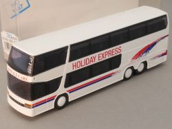 Rietze 60267 Setra S 328 DT Reisebus Holiday Express BEL NEU OVP SG